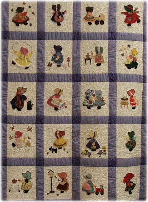 quilt pattern sunbonnet sue 138 best images about sunbonnet sue quilts on pinterest