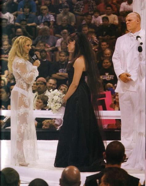 trish stratus wedding weddings in wrestling don t work advice for lana and