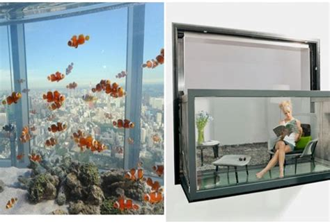 Cermin Aquarium 5 inovasi jendela kaca yang pasti membuat anda takjub