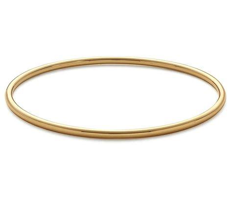 bangle bracelet in 14k yellow gold blue nile