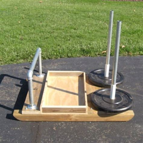 current diy prowler sled project diy gym home workout