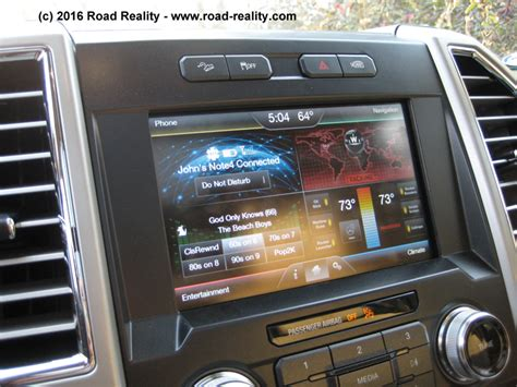 ford touch screen review 2015 ford f 150 lariat 171 road reality