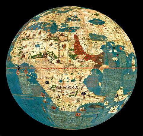 globe  martin behaim nuremberg  maps pinterest