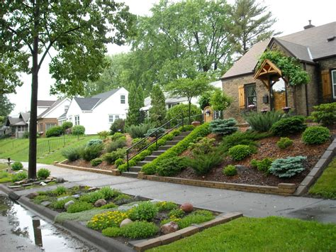 landscaping a hilly backyard great landscaping ideas for the front yard wilson rose