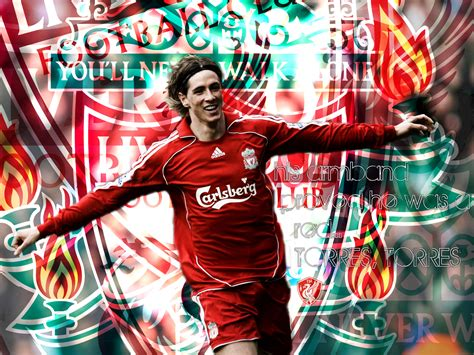 fernando torres liverpool football