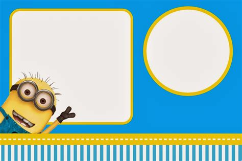 Un Cumplea 241 Os Muy Minion Minion Invitation Template