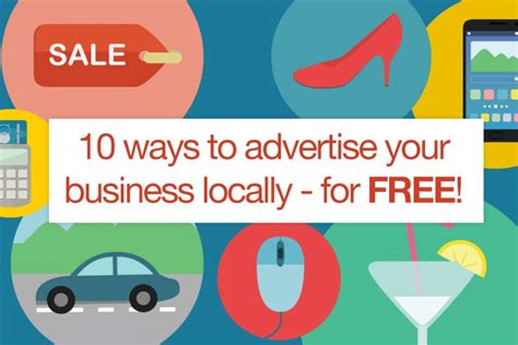 10 ways to advertise your business locally for free
