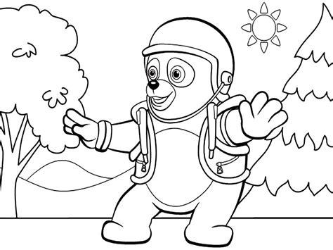 imagenes para pintar oso dibujos para colorear agente especial oso imprimir gratis