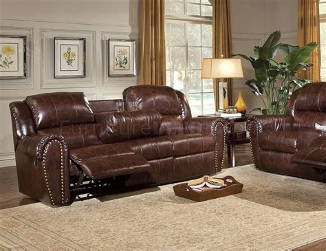 leather couch recliner set cognac brown bonded leather sofa chair set w reclining seats