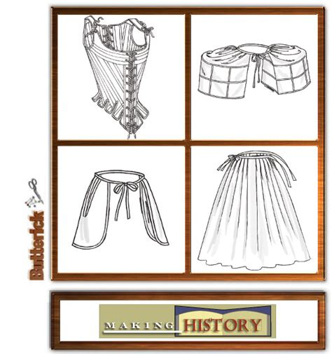 historical pattern review butterick 4484 misses historical underpinning