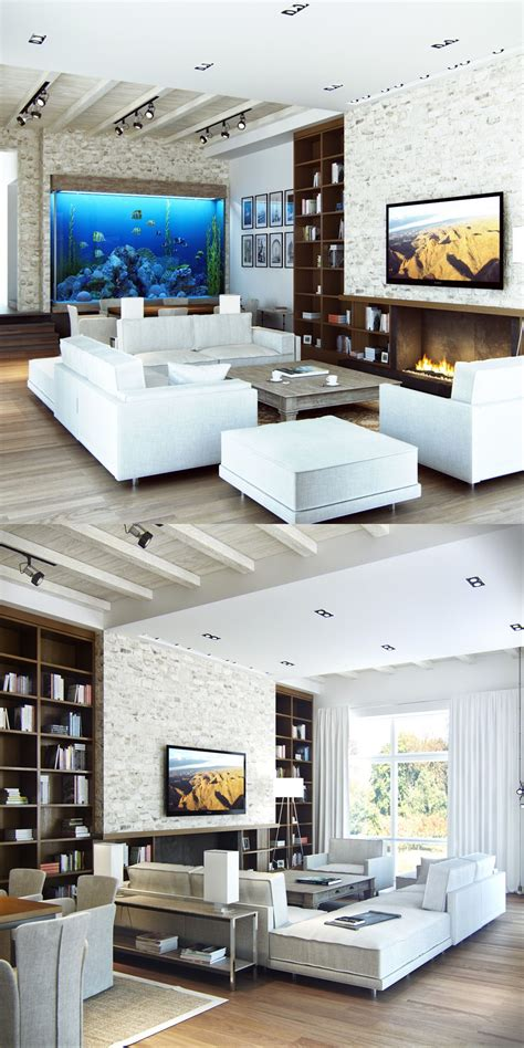 Modern Living Room by 25 Modern Living Rooms With Cool Clean Lines