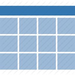 cells data  datasource excel grid table icon icon search engine