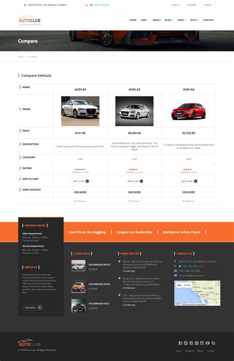 drupal theme item list auto club responsive car dealer drupal theme by