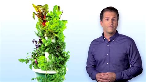 tower garden vertical aeroponic growing system
