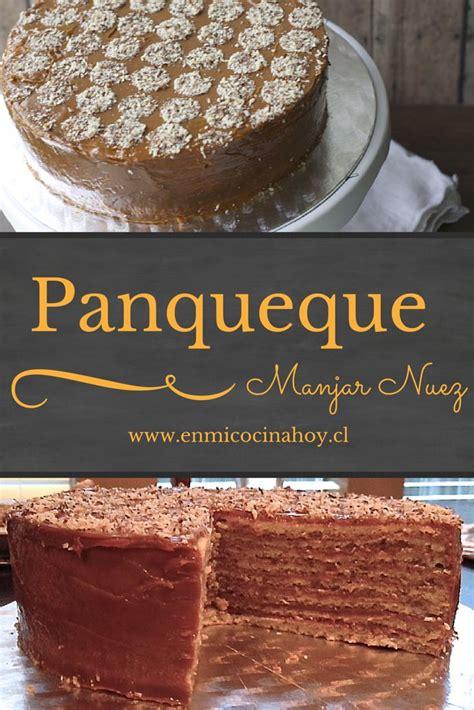 torta panqueque manjar receta 1000 ideas sobre panqueques de leche de almendras en