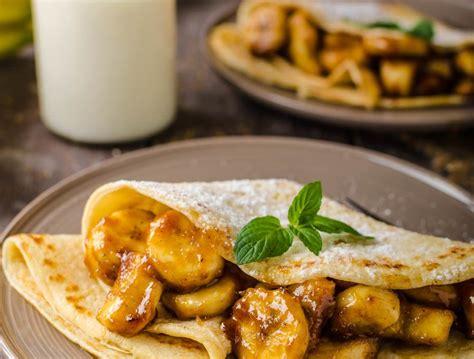 cuisine et mets cr 233 pes bananes caramel des cr 232 pes gourmande d 233 licieusement
