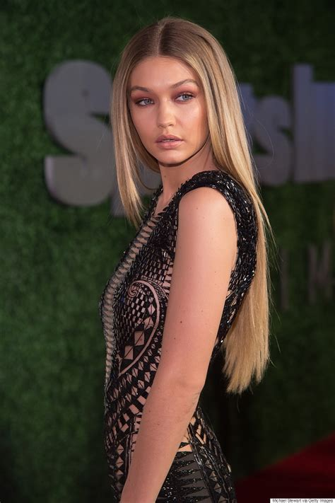 hottest celebrity 2018 gigi hadid s sheer cut out jumpsuit is next level sexy