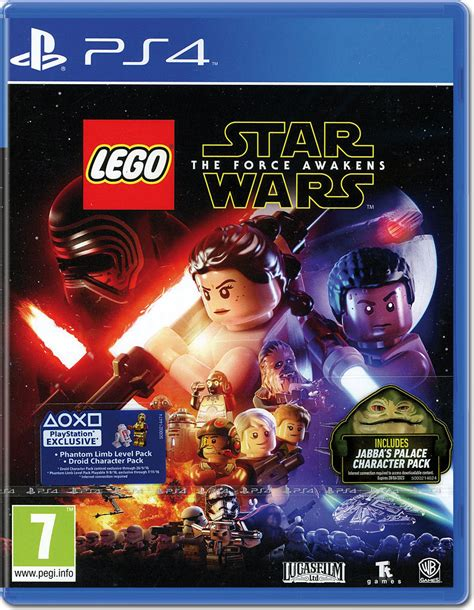 Vita Lego Wars The Awakens lego wars the awakens playstation 4 world