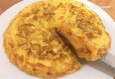 recetas de cocina tortilla de patatas tortilla de patatas y cebolla receta paso a paso