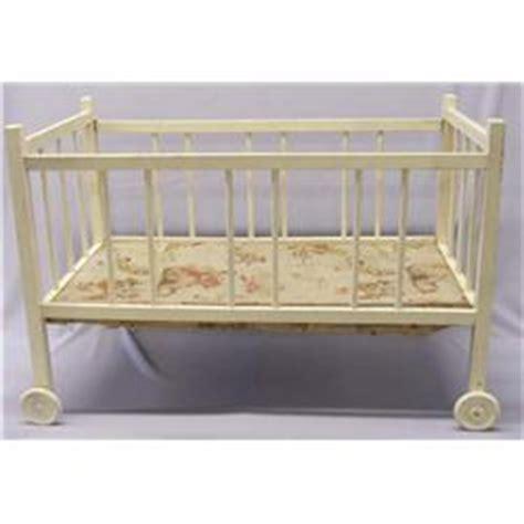 Vintage Doll Crib Wood by Antique Wood Doll Crib