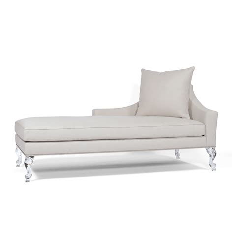 left arm facing chaise allan knightacrylic upholstery chaises chambord chaise