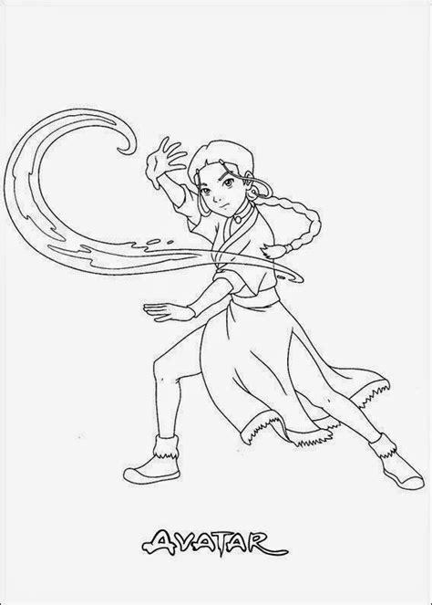Desenhos para Colorir e Imprimir: Desenhos do Avatar para