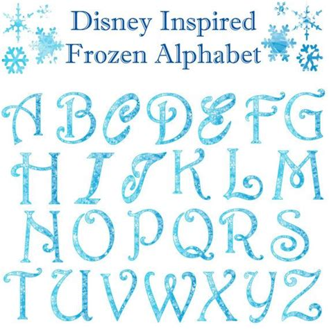 printable frozen font 345 best images about scrapbook disney frozen on pinterest