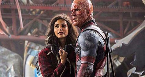 actress dies in deadpool we talked deadpool with ryan reynolds morena baccarin in