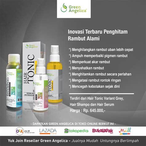 Obat Penghilang Uban Anti Uban Hair Tonic Anti Grey Green green obat penghilang uban green