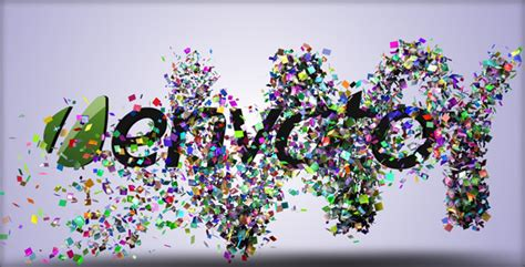 After Effects Project Files Confetti Reveal Videohive After Effects Confetti Template