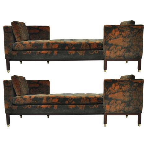 tete a tete sofa dunbar tete a tete sofas by edward wormley for sale at 1stdibs