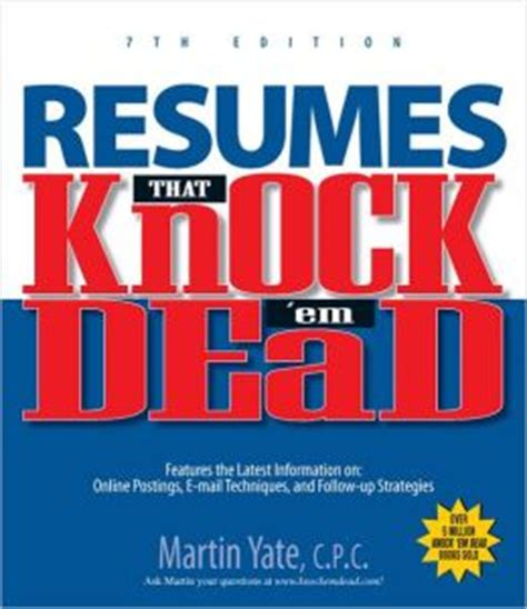 knock em dead collection knock em dead knock em dead cover letters knock em dead resumes books resumes that knock em dead by martin yate 9781593377489