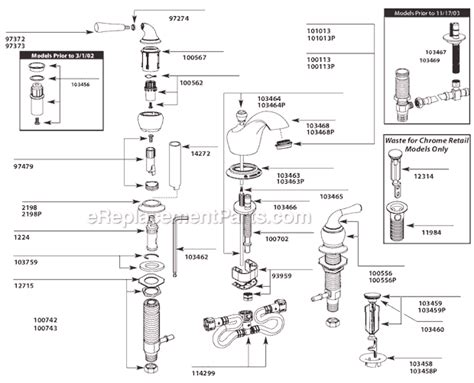 moen monticello parts diagram moen ca84246 parts list and diagram ereplacementparts