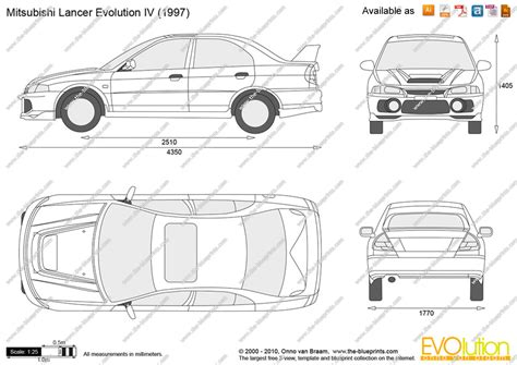 mitsubishi evo drawing the blueprints com vector drawing mitsubishi lancer