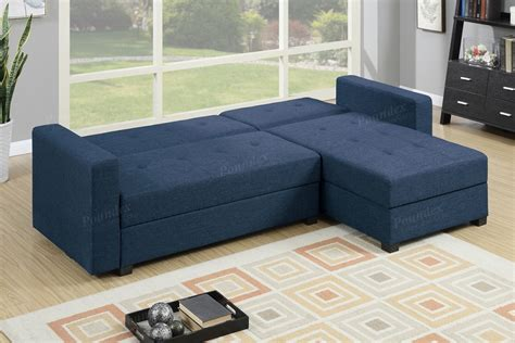 Navy Sectional Sofa Navy Fabric Storage Sectional Sofa