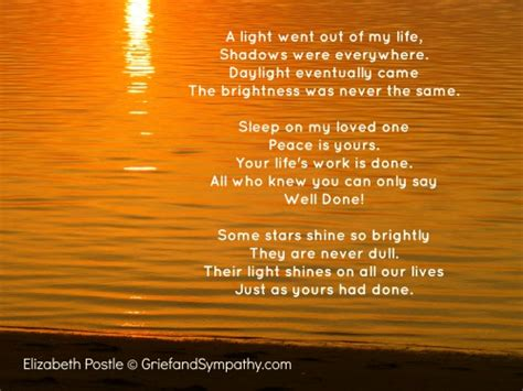poems about comfort beautiful grief poems for comfort
