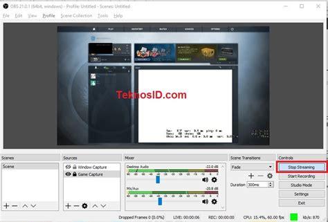 tutorial c youtube cara live streaming youtube di pc laptop teknosid