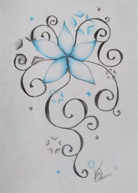stars and flowers tattoo designs 44 best images about ideas on simple