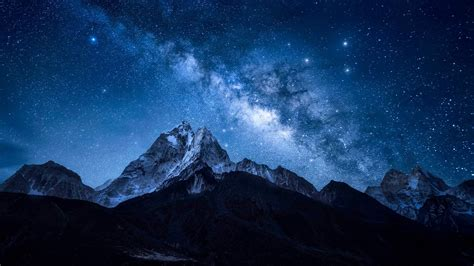 photo day bing wallpapers thousand nights milky milky space telescope
