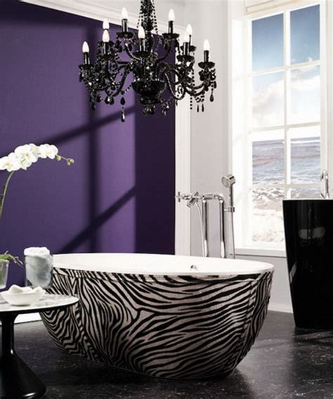 zebra print bathroom ideas home design inside