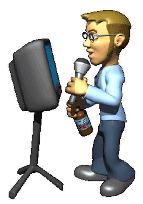 imagenes gif karaoke gifs animados de locutores animaciones de locutores