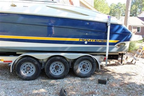 monterey bowrider boats for sale monterey 298s bowrider 2002 for sale for 31 500 boats