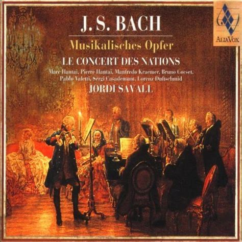 bach musikalisches opfer the musical offering l review savall musical offering