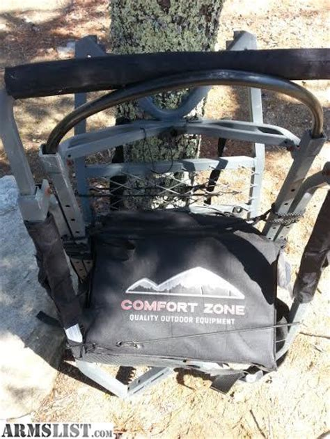 comfort zone treestand armslist for sale comfort zone tree stand