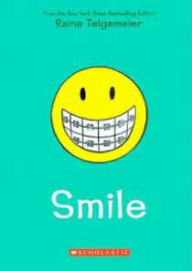 the the smile books the girl s thoughts on smile by raina telgemeier diary