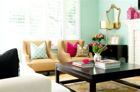 green walls for the living room blue for the bedroom black coffee table transitional living room glidden