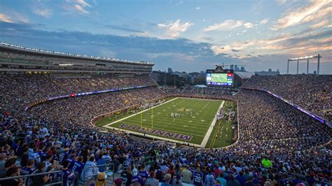 tcf bank stadium vikings are team to make playoffs without permanent