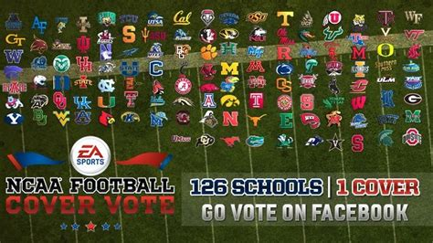 ncaa 14 15 season rosters ncaa football 14 15 season ncaa football 14 cover vote has started vote for your