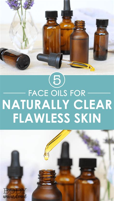 5 Natures Fix For Flawless Skin by 5 Oils For Naturally Clear Flawless Skin