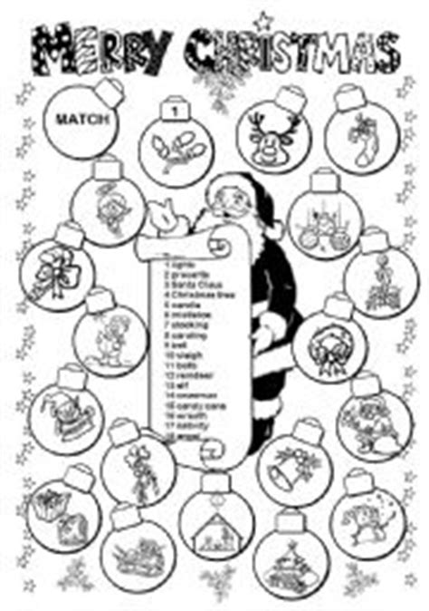 printable christmas activities for upper primary english worksheet merry christmas